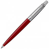 Шариковая ручка Parker Jotter Standart New Red BP красная с хромированной отделкой деталей 78 032R