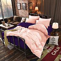 Семейный комплект постельного белья микрофибра подбери себе цвет
