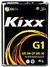 Синтетическое моторное масло Kixx G1 5w-30