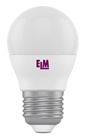 Светодиодная лампа ELM 4W G45 PA10 E27 3000K