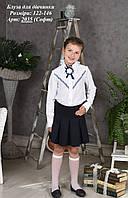 Блуза для девочки в школу