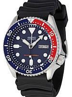 Мужские механические часы Seiko SKX009K1 Pepsi Сейко часы механические с автозаводом