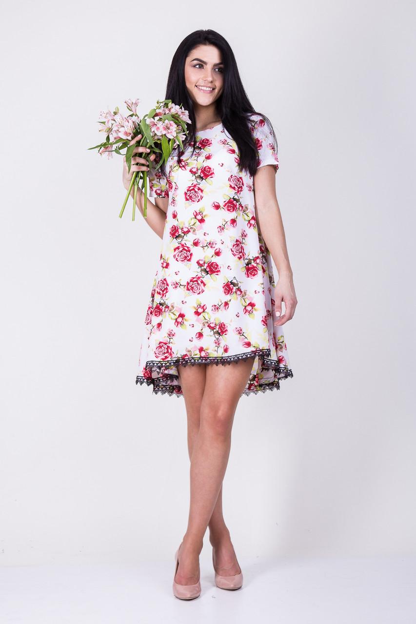 8df88ee790d Летнее платье трапеция - оптово - розничный интернет - магазин