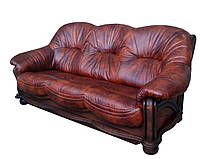 "Солидный кожаный диван ""Hammer"" (Хаммер)"