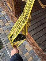 Петли для функционального тренинга TRX желто-черный (петли TiREX)
