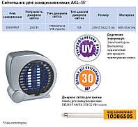 Светильник специальный DELUX_AKL-15_ловушка для насекомых 2*4Вт с вентилятором