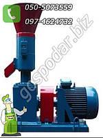 Гранулятор небольшой роликовый мощностью - 4 кВт, до 80 кг/час, напряжение 220 В