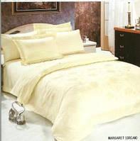 Кремовое постельное белье MARGARET crem от Le vele