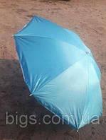 Пляжный зонт с наклоном 1,8м Anti-UF голубой