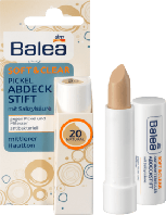 Balea Soft&Clear Abdeckstift Fb.20 - Антибактериальный маскирующий карандаш для лица, №20 натуральный, 4,5 г