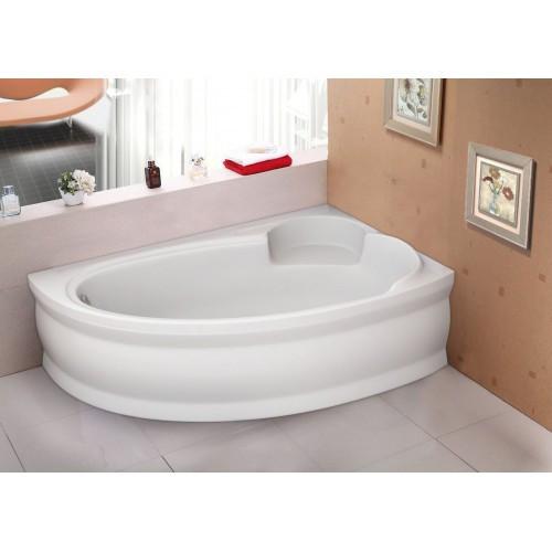 Ванна акрилова асиметрична Belina права 170х110 (панель + каркас) Bliss