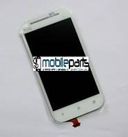Оригинальный дисплей (модуль) + сенсор (тачскрин) для HTC One SV | T528t | C520e (Белый)