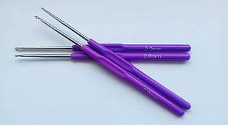 Крючок для вязания с пластиковой ручкой №2