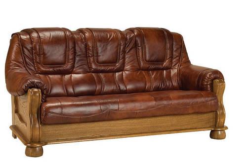 """Классический кожаный диван """"Roma"""" (Рома)"""
