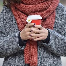 Зимові шарфи, шалі