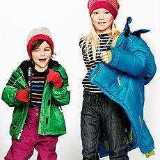 Зимовий верхній одяг для дітей