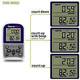 Беспроводной термометр (до 100 м) ThermoPro TP-11 (-9...250 °С) с таймером и 8 режимами для мяса и рыбы, фото 6