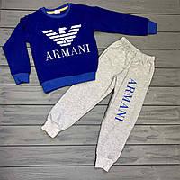 Детский Спортивный костюм Армани оптом р.4-7 лет