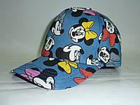 Джинсовая кепка для девочки Мини, фото 1