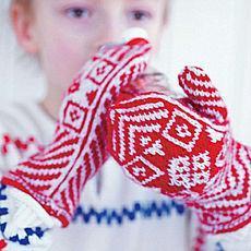 Дитячі рукавички зі знижкою