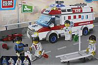 Конструктор Brick скорая помощь 328 дет