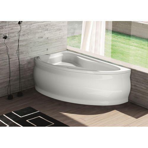 Ванна акрилова асиметрична Fabia ліва 160х100 (панель + каркас) Bliss