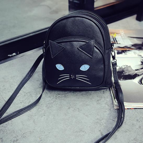 Мини рюкзак котик