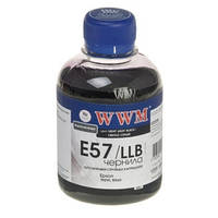 Чернила WWM для Epson Stylus Photo R2400/R2880 200г Light Light Black Водорастворимые (E57/LLB)