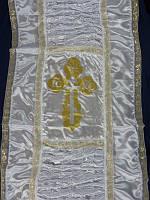 Комплект покрывало+наволочка атлас Крест
