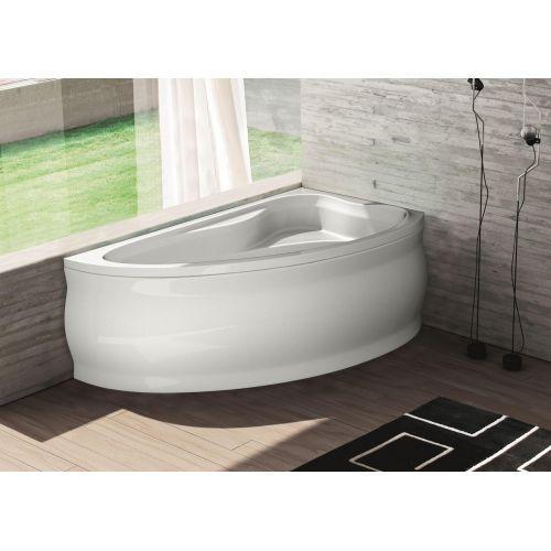 Ванна акрилова асиметрична Fabia права 160х100 (панель + каркас) Bliss