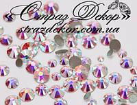 Стразы ss4 без клея Crystal АВ (хамелеоны) (100шт.) холодной фиксации, фото 1