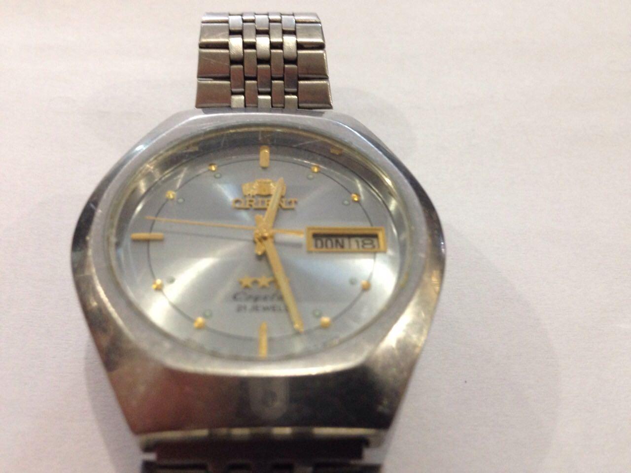 Наручные часы orient 21 jewels цена паровоз часы купить