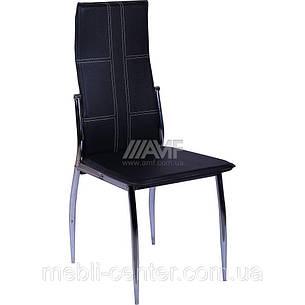Стул Марлен ROC-01 (чёрный) (с доставкой), фото 2
