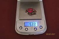 Винтажная брошь,брошка СССР Серебро 875*