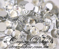 Стразы ss5 без клея Crystal (кристалл прозрачные) (100шт.) холодной фиксации