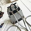 Стильный мини рюкзак с шипами, фото 5