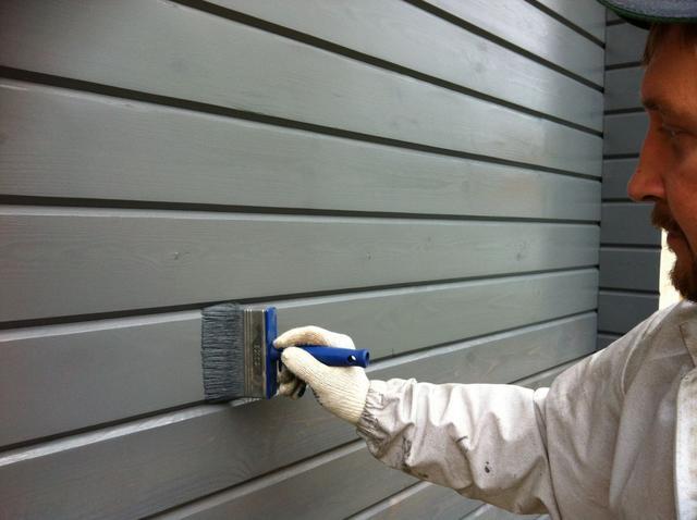 Краски для деревянных фасадов
