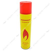 Баллон для заправки зажигалок Anonsen газ 300мл
