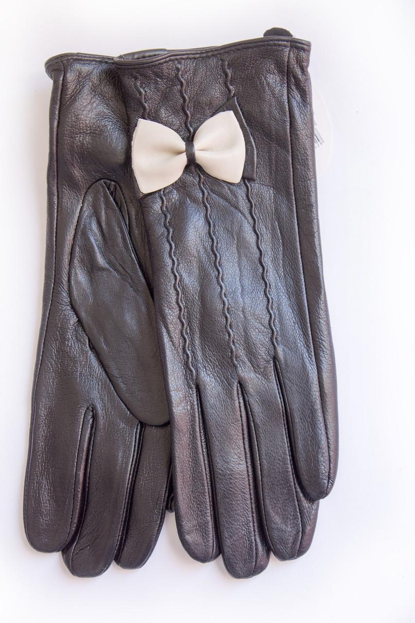 Женские кожаные перчатки ВЯЗКА Маленькие WP-161491s1