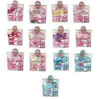 Кукольный наряд BLC200K-02F-BLD201D-BL203C (48шт) соска, подгузник, 4вида, в кульке, 22-30-2см