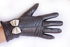 Женские кожаные перчатки Кролик Средние WP-161492s2, фото 3