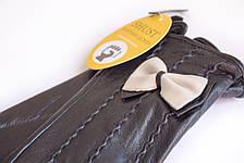 Женские кожаные перчатки Вязка Сенсорные WP-161493, фото 3