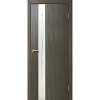 Межкомнатные двери Омис Зеркало 1.1 ПВХ (Мокко)