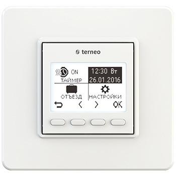 Программируемый недельный терморегулятор для ик панелей (отопления) terneo pro - Теплопан в Харькове
