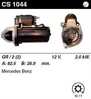 Стартер /2,0кВт z10,11/ Mercedes W202.210.203 2.0-2.2-2.5-2.7-3.0D Sprinter 2.2-2.7CDI, 2.3-2.9D