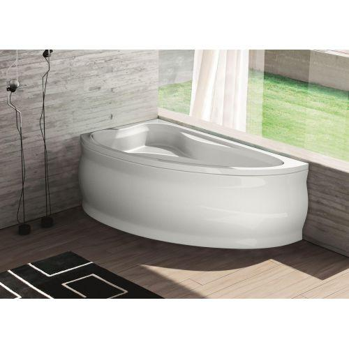 Ванна акрилова асиметрична Fabia ліва 150х90 (панель + каркас) Bliss