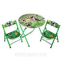 Раскладной стол и 2 стула DT22
