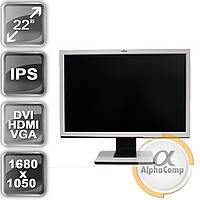 "Монитор 22"" Fujitsu Siemens P22W (IPS/16:10/VGA/DVI/HDMI/колонки) б/у"