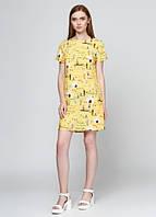 73005 Платье летнее желтое: imprezz.com.ua
