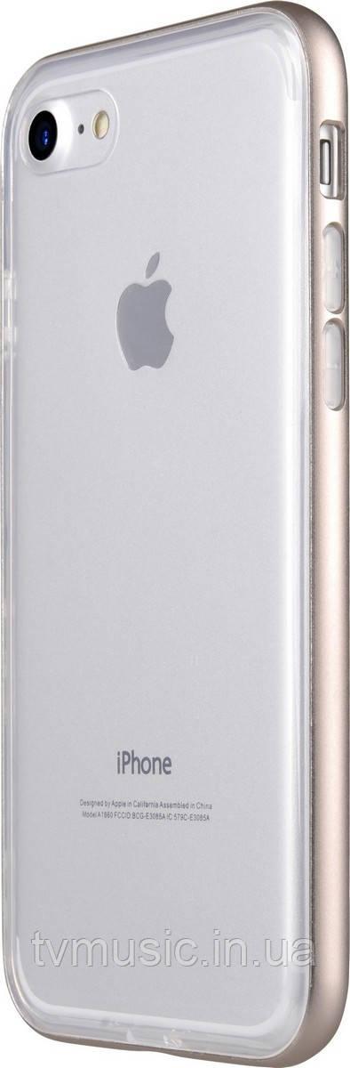Чехол для мобильного телефона Avatti Mela Double Bumper Gold для iPhone 7